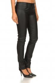 Patrizia Pepe |  Faux leather pants Fienne | black  | Picture 4
