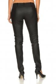 Patrizia Pepe |  Faux leather pants Fienne | black  | Picture 5