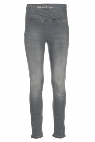 Patrizia Pepe |  High-waist skinny jeans Norella | grey   | Picture 1