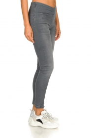 Patrizia Pepe |  High-waist skinny jeans Norella | grey   | Picture 4