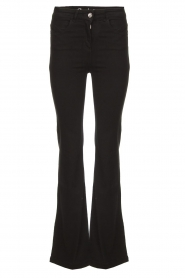 Patrizia Pepe |  Flared jeans Jinthe | black  | Picture 1