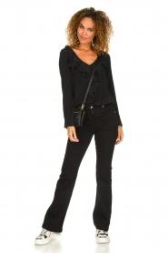 Patrizia Pepe |  Flared jeans Jinthe | black  | Picture 3
