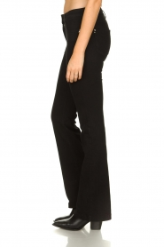 Patrizia Pepe |  Flared jeans Jinthe | black  | Picture 4