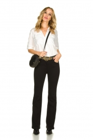 Patrizia Pepe |  Flared jeans Jinthe | black  | Picture 3