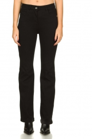 Patrizia Pepe |  Flared jeans Jinthe | black  | Picture 2