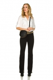 Patrizia Pepe |  Flared jeans Jinthe | black  | Picture 6