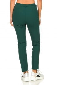 Patrizia Pepe |  Trousers with ceinture Bodine | green  | Picture 5