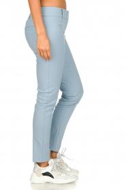 Patrizia Pepe |  Classic stretch trousers Kiana | blue  | Picture 4