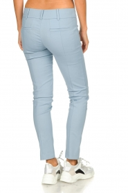 Patrizia Pepe |  Classic stretch trousers Kiana | blue  | Picture 5