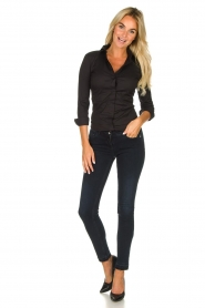 Patrizia Pepe |  Push up skinny jeans Withney | black  | Picture 3