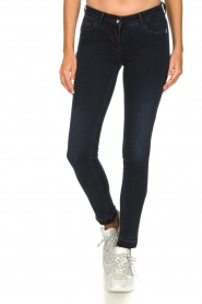 Patrizia Pepe |  Push up skinny jeans Withney | black  | Picture 2
