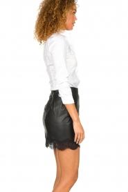 Patrizia Pepe |  Classic body blouse Tori | white  | Picture 4