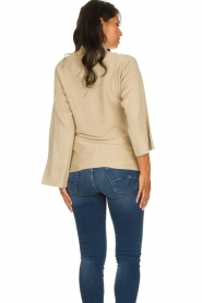 Patrizia Pepe |  Turtleneck swaeter with lurex Puck | gold  | Picture 6