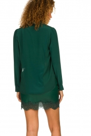 Patrizia Pepe |  Silk blouse Rosa | green  | Picture 5