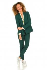 Patrizia Pepe |  Classic blazer Philipe | green  | Picture 4