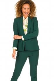 Patrizia Pepe |  Classic blazer Philipe | green  | Picture 2