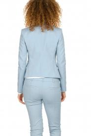 Patrizia Pepe |  Classic stretch blazer Nicole | blue  | Picture 5