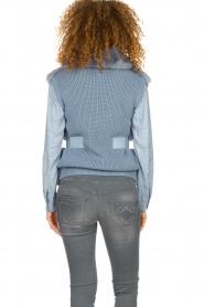Patrizia Pepe    Faux fur waistcoat Nikki   blue    Picture 6
