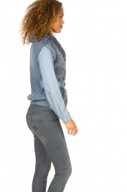 Patrizia Pepe    Faux fur waistcoat Nikki   blue    Picture 5
