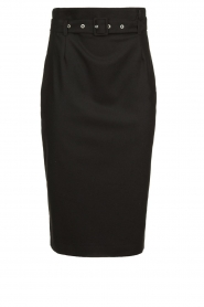 Set | Skirt with belt Alessia | black  | Picture 1