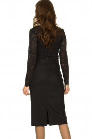 Set | Skirt with belt Alessia | black  | Picture 5