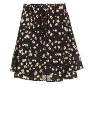 Set |  Skirt with floral print Yaar | black  | Picture 1