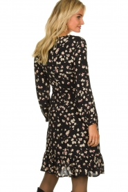 Set |  Dress with floral print Hip | black   | Picture 5