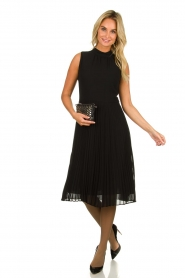 Set |  Plisse dress Dana | black  | Picture 3