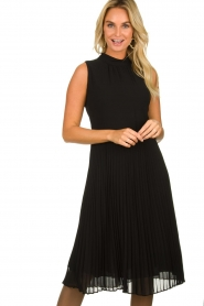 Set |  Plisse dress Dana | black  | Picture 2