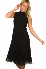 Set |  Plisse dress Dana | black  | Picture 4