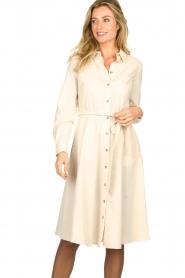 Set |  Midi blouse dress Monki | natural   | Picture 2