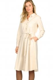 Set |  Midi blouse dress Monki | natural   | Picture 4