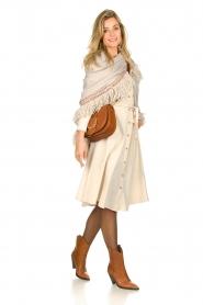 Set |  Midi blouse dress Monki | natural   | Picture 6