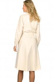 Set |  Midi blouse dress Monki | natural   | Picture 5