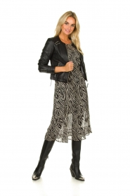 Set |  Zebra print dress Lotje | Animal  | Picture 3