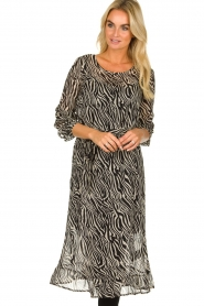 Set |  Zebra print dress Lotje | Animal  | Picture 4