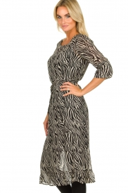 Set |  Zebra print dress Lotje | Animal  | Picture 5