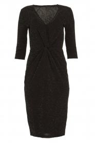 Set |  Shimmering lurex dress Sas | black  | Picture 1