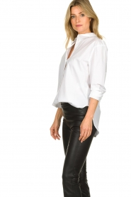 Set |  Oversized blouse Minke | white  | Picture 4