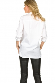 Set |  Oversized blouse Minke | white  | Picture 5