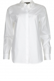 Set |  Oversized blouse Minke | white  | Picture 1