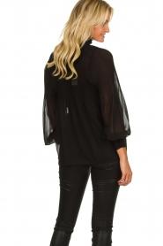 Set |  Plisse blouse Jaq | black  | Picture 6