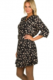 Set |  Blouse with floral print Koy | black  | Picture 4
