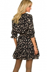 Set |  Blouse with floral print Koy | black  | Picture 5