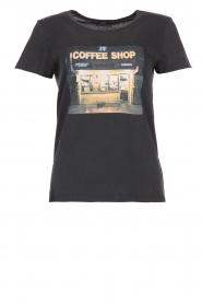 Set | T-shirt Coffeeshop | black  | Picture 1