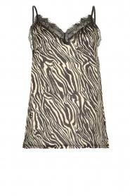 Set |  Top with zebra print Jess | dierenprint  | Picture 1