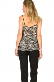 Set |  Top with zebra print Jess | dierenprint  | Picture 5