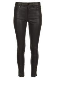 Set |  Coated skinny jeans Mena | black  | Picture 1