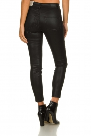 Set |  Coated skinny jeans Mena | black  | Picture 5