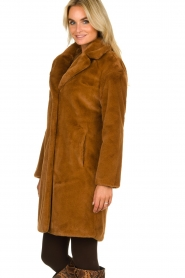 Set |  Faux fur coat Styn | brown  | Picture 5